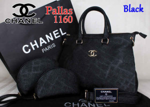 Bag Chanel Pallas 1160 Super uk~35x14x27.Black
