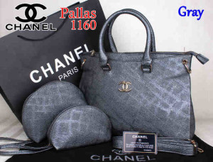 Bag Chanel Pallas 1160 Super uk~35x14x27.Gray