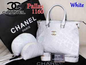 Bag Chanel Pallas 1160 Super uk~35x14x27.White