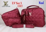 Tas Louis Vuitton 1065 Set 3 Super Murah