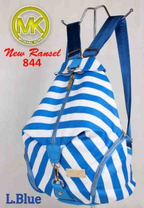 Bag MK New Ransel 844 uk~28x15x34 L.Blue