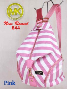 Bag MK New Ransel 844 uk~28x15x34 Pink