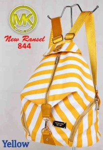 Bag MK New Ransel 844 uk~28x15x34 Yellow