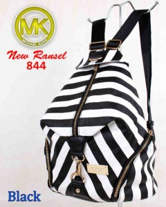 Bag MK New Ransel 844 uk~28x15x34 black