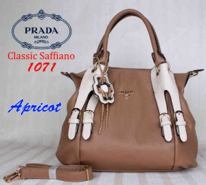 Bag Prada 1071 uk~36x15x32. Apricot