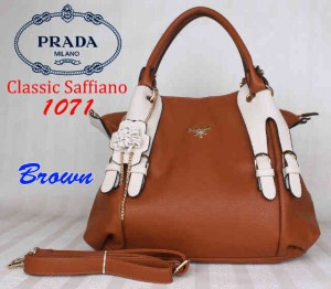 Bag Prada 1071 uk~36x15x32. Brown