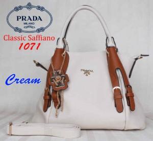 Bag Prada 1071 uk~36x15x32. Cream