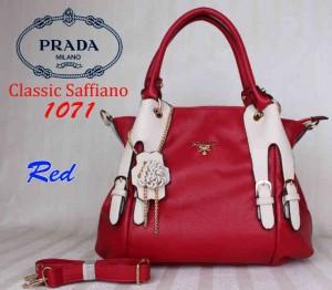 Bag Prada 1071 uk~36x15x32. Red