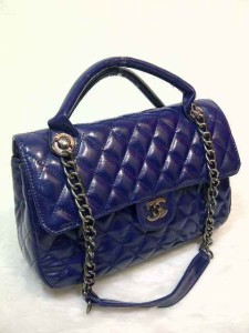 Chanel syahrini 8008 super uk 30x9x18 biru dongker