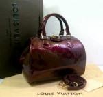 Tas Louis Vuitton Speedy Vernis M90058OQ Premium Terbaru