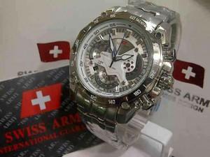 Swiss army SA-550 white dial ori (4.5cm)
