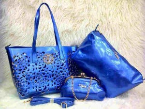Uk 30x26x14 CHLOE BARA SUPER 3 in 1 BIRU