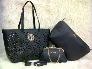 Uk 30x26x14 CHLOE BARA SUPER 3 in 1  HITAM