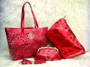Uk 30x26x14 CHLOE BARA SUPER 3 in 1  MERAH