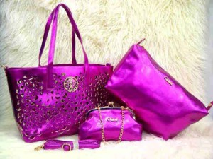 Uk 30x26x14 CHLOE BARA SUPER 3 in 1 PINK