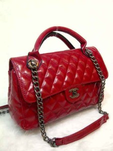 chanel syahrini 8008 super uk 30x9x18 merah