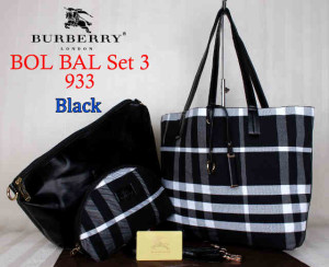 Bag Burberry Bol Bal 933 uk~43x10x30. 275~Black