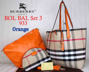 Bag Burberry Bol Bal 933 uk~43x10x30. Orange