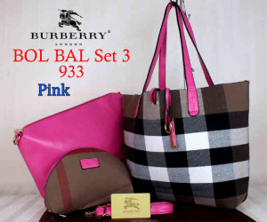 Bag Burberry Bol Bal 933 uk~43x10x30. Pink