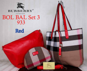Bag Burberry Bol Bal 933 uk~43x10x30. Red