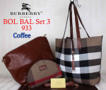 Tas Burberry Bol Bal 933 Set Super Model Terbaru