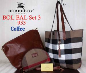 Bag Burberry Bol Bal 933 uk~43x10x30.~Coffee