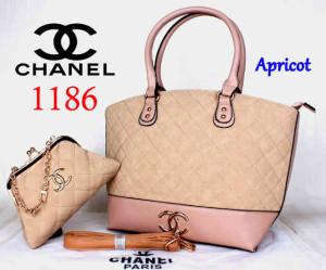 Bag Chanel 1186 Super uk~40x15x30. @300~Apricot