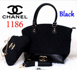 Bag Chanel 1186 Super uk~40x15x30. @300~Black