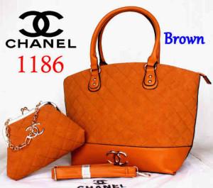 Bag Chanel 1186 Super uk~40x15x30. @300~Brown