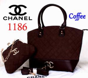 Bag Chanel 1186 Super uk~40x15x30. @300~Coffee(1)