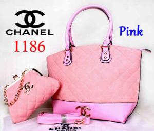Bag Chanel 1186 Super uk~40x15x30. @300~Pink