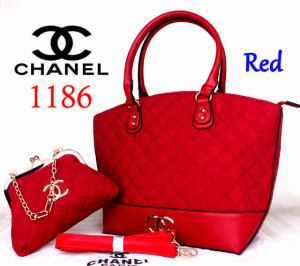 Bag Chanel 1186 Super uk~40x15x30. @300~Red