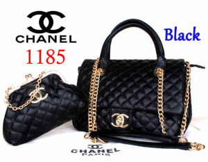 Bag Channel 1185 Super uk~33x13x23. Black