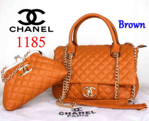 Bag Channel 1185 Super uk~33x13x23. Brown