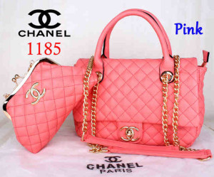 Bag Channel 1185 Super uk~33x13x23. Pink