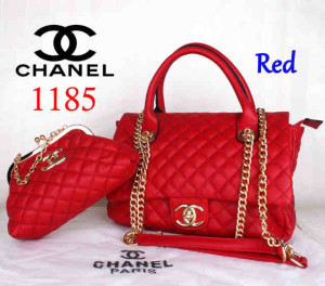 Bag Channel 1185 Super uk~33x13x23. Red