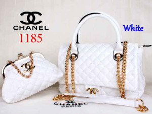 Bag Channel 1185 Super uk~33x13x23. White