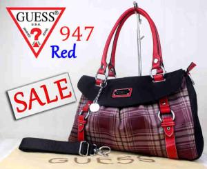 Bag Guess 947 Super uk~40x15x26. Red