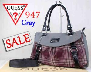 Bag Guess 947 Superuk~40x15x26. Gray