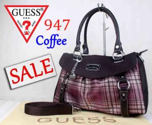 Bag Guess 947 Superuk~40x15x26Coffee
