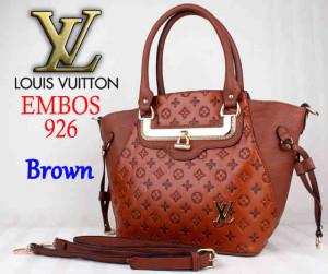 Bag LV Embos 926 uk~40x15x29. ~Brown