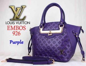 Bag LV Embos 926 uk~40x15x29. ~Purple