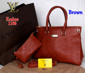 Bag Louis Vuitton Pallas 1108 Super uk~33x14x23. ~Brown