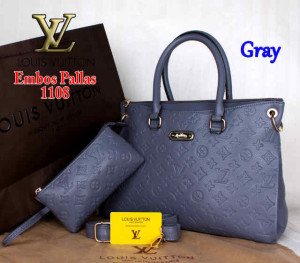Bag Louis Vuitton Pallas 1108 Super uk~33x14x23. ~Gray