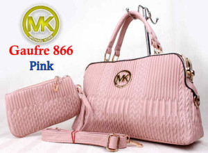 Bag Mk Gaufre 866 uk~36x12x23. @300~Pink