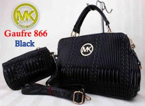 Bag Mk Gaufre 866 uk~36x12x23. ~Black