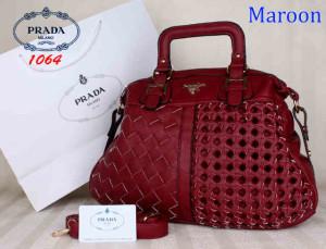 Bag Prada 1064 Maroon