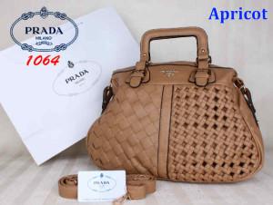 Bag Prada 1064 uk~40x16x31. Apricot