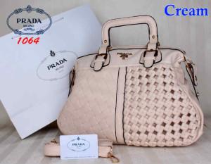 Bag Prada 1064 uk~40x16x31. Cream