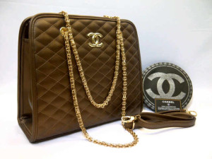Chanel 8342# Super Uk~32x12x28cm 315 Coffe